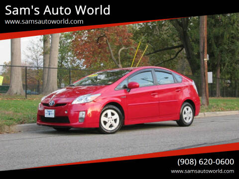 2011 Toyota Prius for sale at Sam's Auto World in Roselle NJ