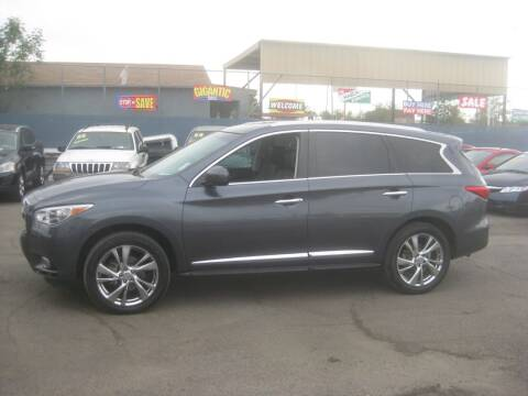 2013 Infiniti JX35 for sale at Town and Country Motors - 1702 East Van Buren Street in Phoenix AZ