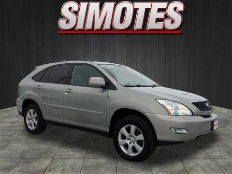 2007 Lexus RX 350 for sale at SIMOTES MOTORS in Minooka IL