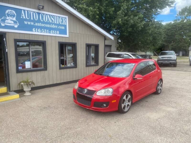 2008 Volkswagen GTI for sale at Auto Consider Inc. in Grand Rapids MI