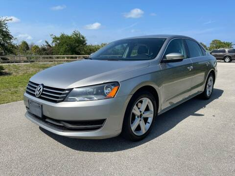 2013 Volkswagen Passat for sale at Goval Auto Sales in Pompano Beach FL
