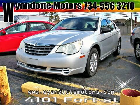 2010 Chrysler Sebring for sale at Wyandotte Motors in Wyandotte MI