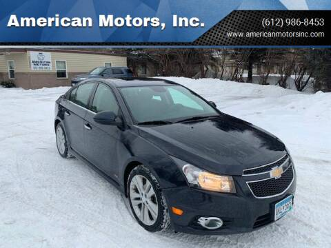2016 Chevrolet Cruze Limited for sale at American Motors, Inc. in Farmington MN