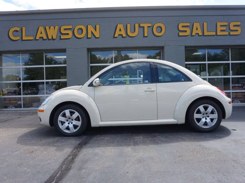 2007 Volkswagen New Beetle for sale at Clawson Auto Sales in Clawson MI
