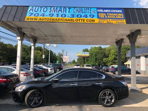 2013 Nissan Maxima for sale at Auto Smart Charlotte in Charlotte NC