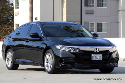 2018 Honda Accord for sale at Euro Auto Sales in Santa Clara CA
