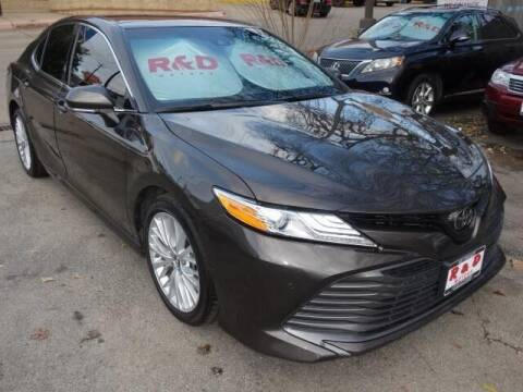 2018 Toyota Camry for sale at R & D Motors in Austin TX