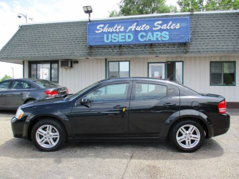 2010 Dodge Avenger for sale at SHULTS AUTO SALES INC. in Crystal Lake IL