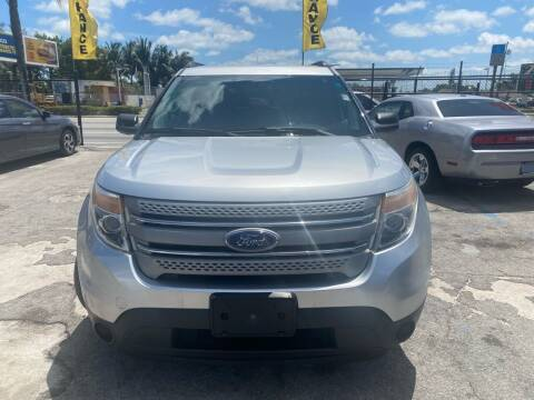 2012 Ford Explorer for sale at America Auto Wholesale Inc in Miami FL