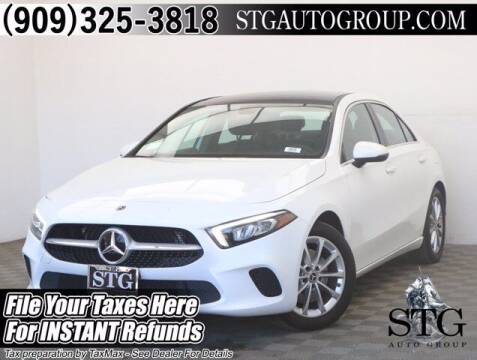 2019 Mercedes-Benz A-Class for sale at STG Auto Group in Montclair CA