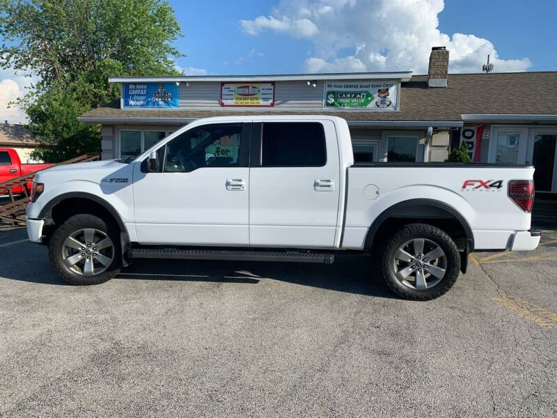 2014 Ford F-150 for sale at Revolution Motors LLC in Wentzville MO