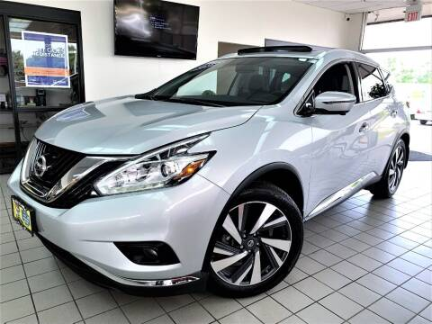 2018 Nissan Murano for sale at SAINT CHARLES MOTORCARS in Saint Charles IL