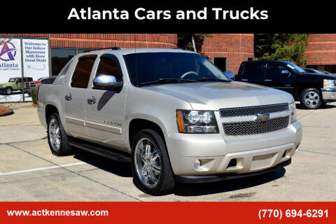 2008 Chevrolet Avalanche for sale at Atlanta Cars and Trucks in Kennesaw GA