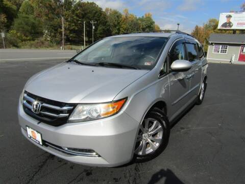 2014 Honda Odyssey for sale at Guarantee Automaxx in Stafford VA