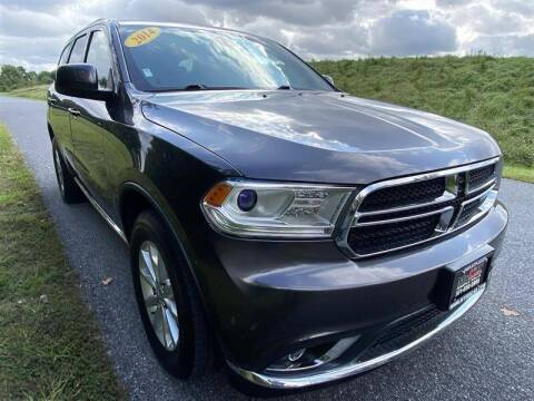 2014 Dodge Durango for sale at Mr. Car City in Brentwood MD