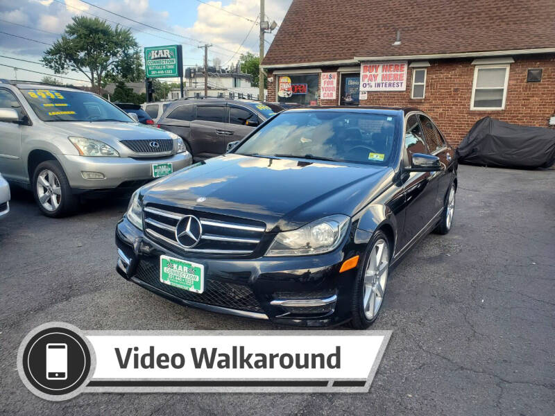 2014 Mercedes-Benz C-Class for sale at Kar Connection in Little Ferry NJ
