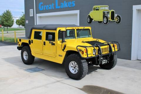 2000 AM General Hummer for sale at Great Lakes Classic Cars & Detail Shop in Hilton NY