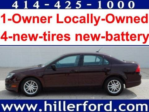 2011 Ford Fusion for sale at HILLER FORD INC in Franklin WI