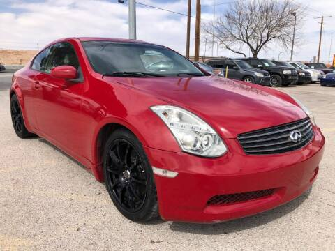 2005 Infiniti G35 for sale at Eastside Auto Sales in El Paso TX