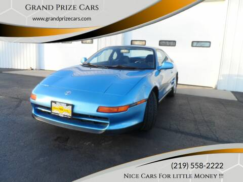 1993 Toyota MR2 for sale at Grand Prize Cars in Cedar Lake IN