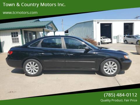 2009 Hyundai Azera for sale at Town & Country Motors Inc. in Meriden KS