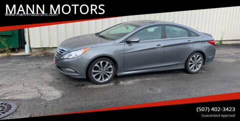 2014 Hyundai Sonata for sale at MANN MOTORS in Albert Lea MN