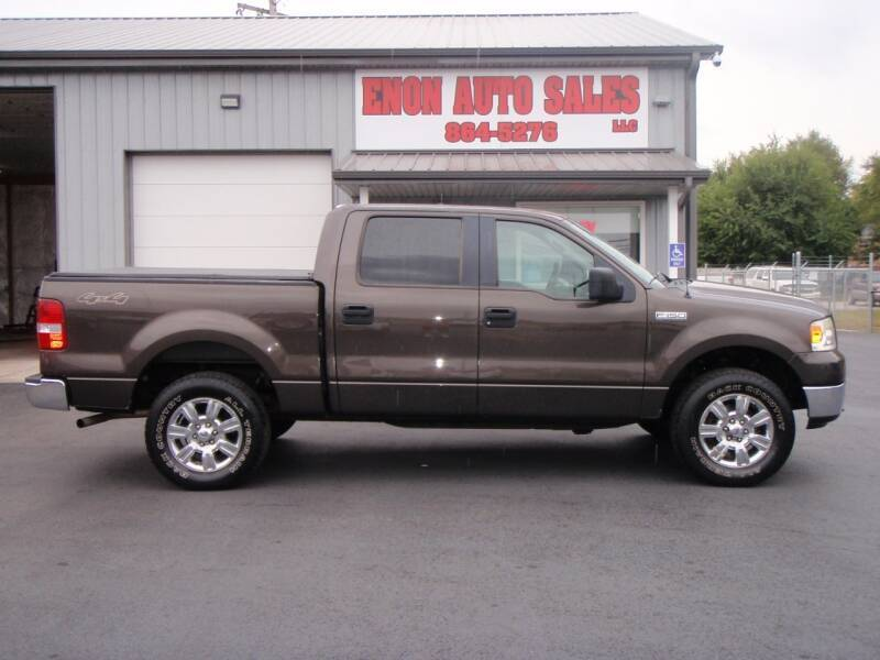 2005 Ford F-150 for sale at ENON AUTO SALES in Enon OH