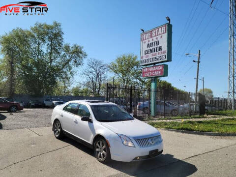 2010 Mercury Milan for sale at Five Star Auto Center in Detroit MI