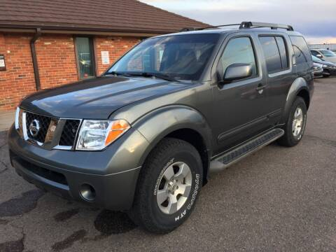 2007 Nissan Pathfinder for sale at STATEWIDE AUTOMOTIVE LLC in Englewood CO