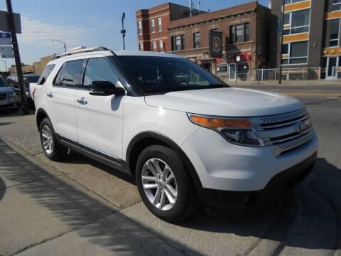 2015 Ford Explorer for sale at Metropolitan Automan, Inc. in Chicago IL