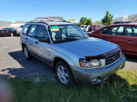2003 Subaru Forester for sale at Creekside Auto Sales in Pocatello ID