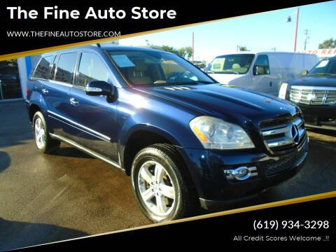 2007 Mercedes-Benz GL-Class for sale at The Fine Auto Store in Imperial Beach CA