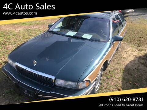 1996 Buick Roadmaster for sale at 4C Auto Sales in Wilmington NC