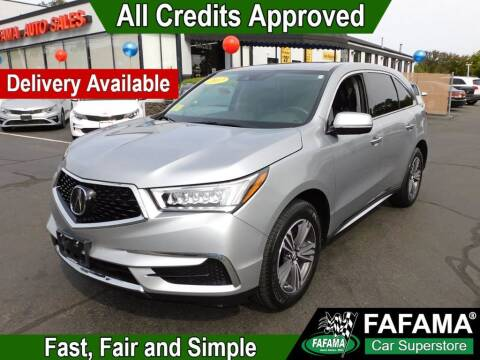 2017 Acura MDX for sale at FAFAMA AUTO SALES Inc in Milford MA