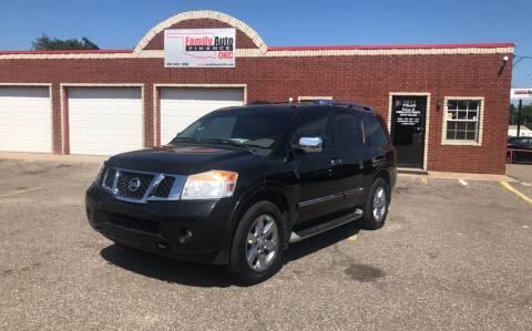 2011 Nissan Armada for sale at Family Auto Finance OKC LLC in Oklahoma City OK