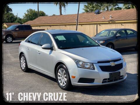 2011 Chevrolet Cruze for sale at ASTRO MOTORS in Houston TX