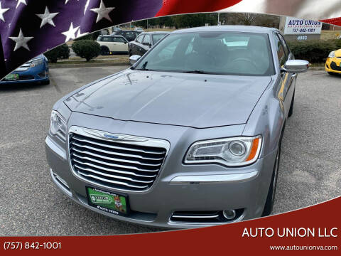 2014 Chrysler 300 for sale at Auto Union LLC in Virginia Beach VA