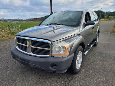 2005 Dodge Durango for sale at State Street Auto Sales in Centralia WA