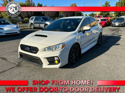 2018 Subaru WRX for sale at Auto 206, Inc. in Kent WA