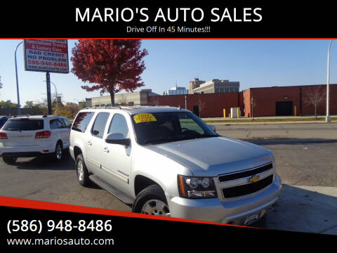 2014 Chevrolet Suburban for sale at MARIO'S AUTO SALES in Mount Clemens MI
