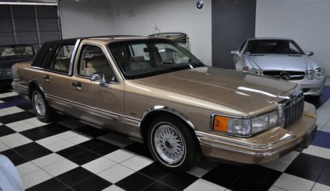 1991 Lincoln Town Car for sale at Podium Auto Sales Inc in Pompano Beach FL