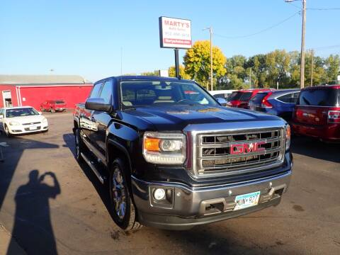 2014 GMC Sierra 1500 for sale at Marty's Auto Sales in Savage MN