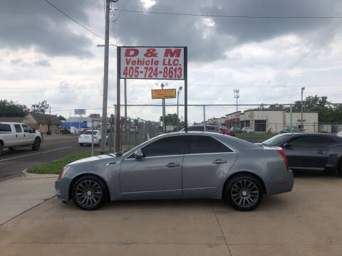 2008 Cadillac CTS for sale at D & M Vehicle LLC in Oklahoma City OK