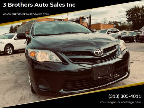 2011 Toyota Corolla for sale at 3 Brothers Auto Sales Inc in Detroit MI