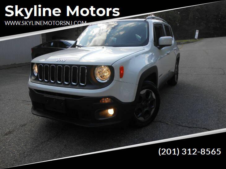 2015 Jeep Renegade for sale at Skyline Motors in Ringwood NJ