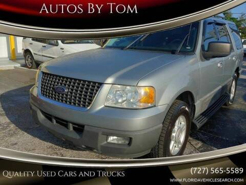 2006 Ford Expedition for sale at Autos by Tom in Largo FL