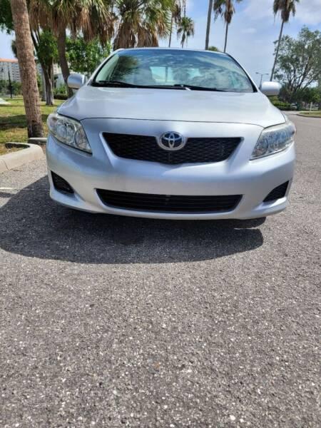 2010 Toyota Corolla for sale at ATA   AUTO SALES INC in Sarasota FL