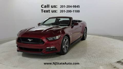 2016 Ford Mustang for sale at NJ State Auto Used Cars in Jersey City NJ