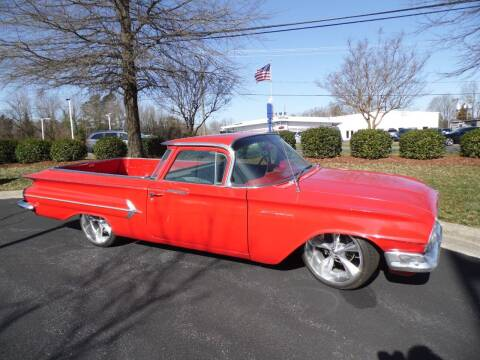 1960 Chevrolet El Camino for sale at Carolina Classics & More in Thomasville NC