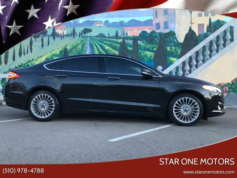 2013 Ford Fusion for sale at Star One Motors in Hayward CA